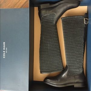 Cole Haan stretch boots